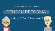 Kviečiame į nemokamą seminarą Raseiniuose